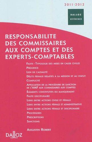 responsabilité des commissaires aux comptes et des experts-comptables